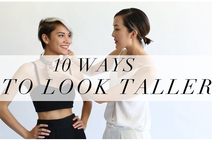 10 ways to look taller