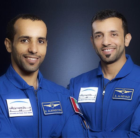 UAE astronauts at the Emirates Airline Festival of Literature