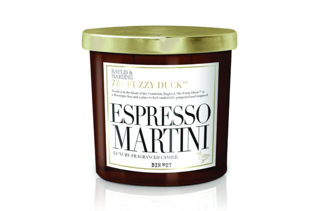Bayliss & Harding Fuzzy Duck Espresso Martini 2 Wick Candle