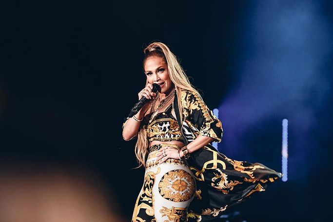 Highlights of Jennifer Lopez in Dubai