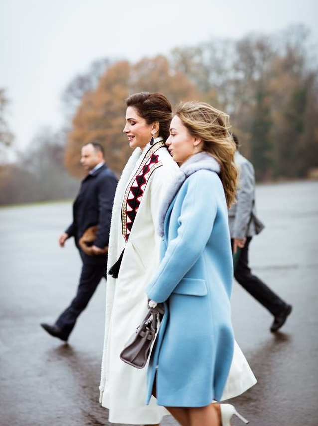 Queen Rania and Princess Iman 2