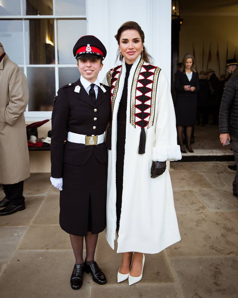 Salma's graduation from Sandhurst 2