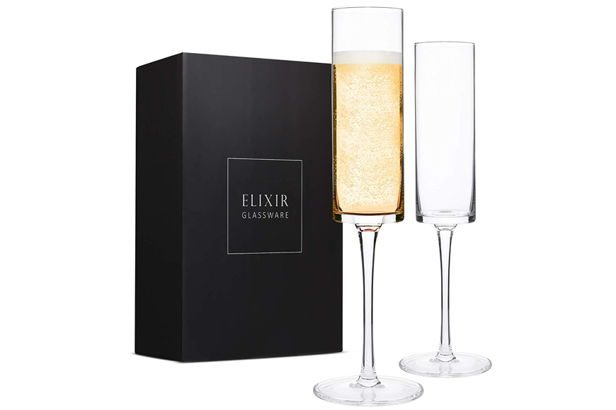 Edge Champagne Glass Set