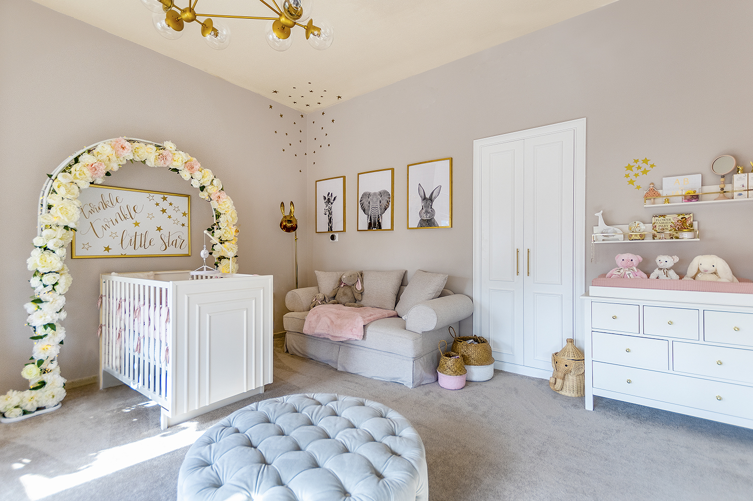 Victory Heights baby room