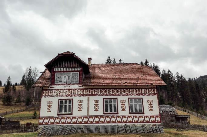 Artisitc village in Romania