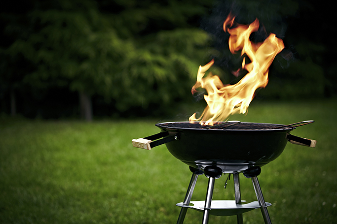 outdoor bbq grilling