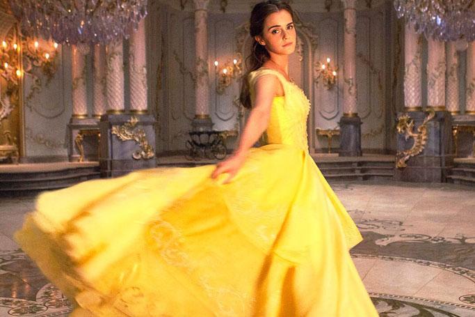 Emma Watson's Iconic Yellow Gown