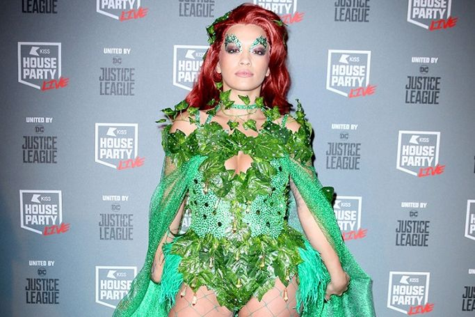 Halloween 2017 celebrity costumes Rita Ora