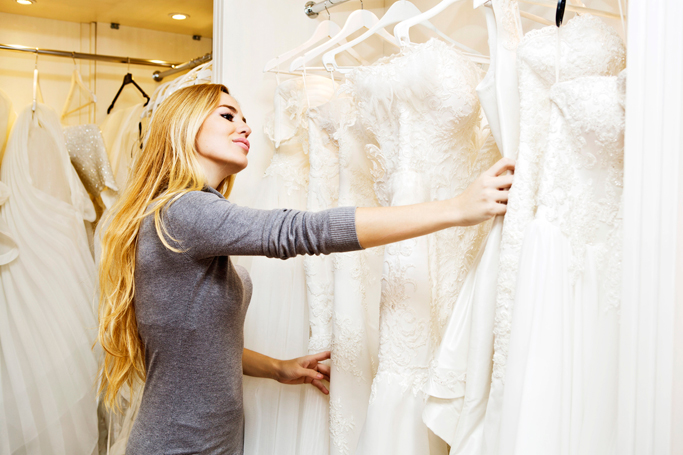 This is how much an average bride spends on her wedding for Average wedding dress budget
