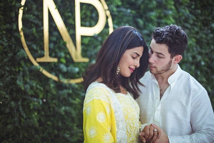 Priyanka Chopra and Nick Jonas' Engagement Ceremony