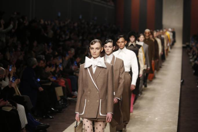 Fendi Catwalk Show Without Karl Lagerfeld