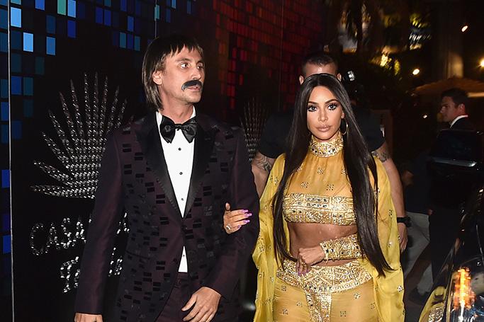 Kim Kardashian's Cher Halloween costume