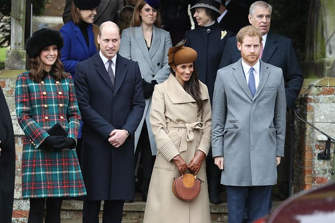 Kate Middleton and Meghan Markle's Christmas style