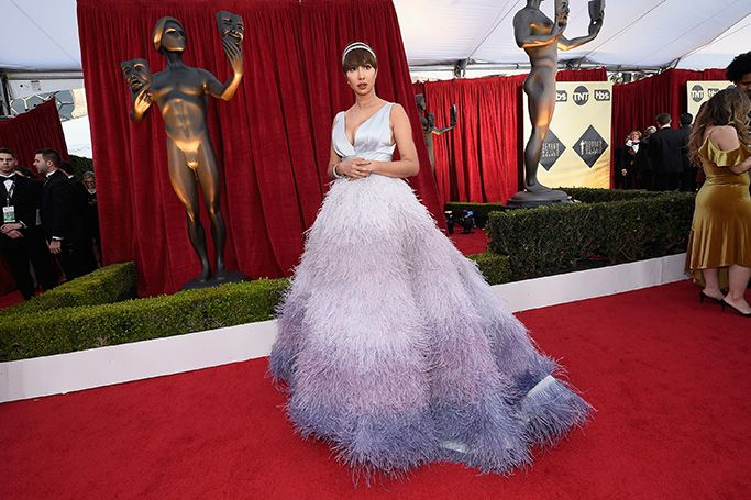 Middle Eastern designers at the SAG Awards