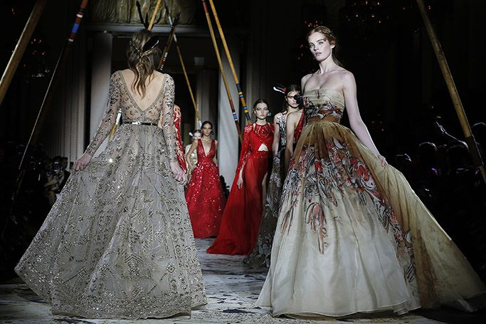 Highlights From Zuhair Murad SS18 At Paris Couture Fashion Week