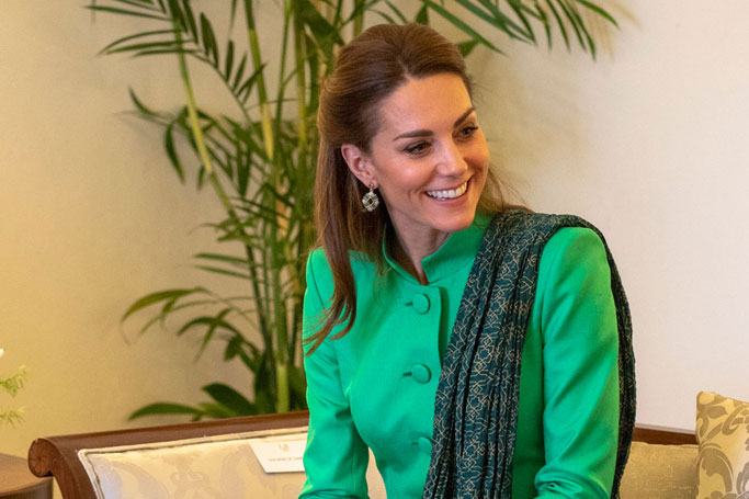 Kate's Been Donning Traditional Pakistani Dress on the Royal Tour