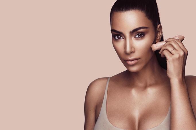 Kim Kardashian's Contour Game