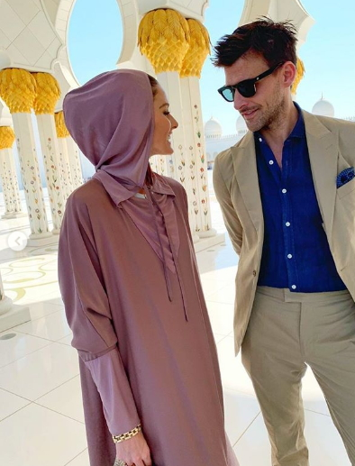Olivia Palermo and Johannes Huebl in Abu Dhabi