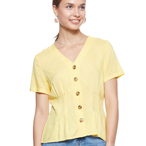 Vero Moda Yellow Blouse
