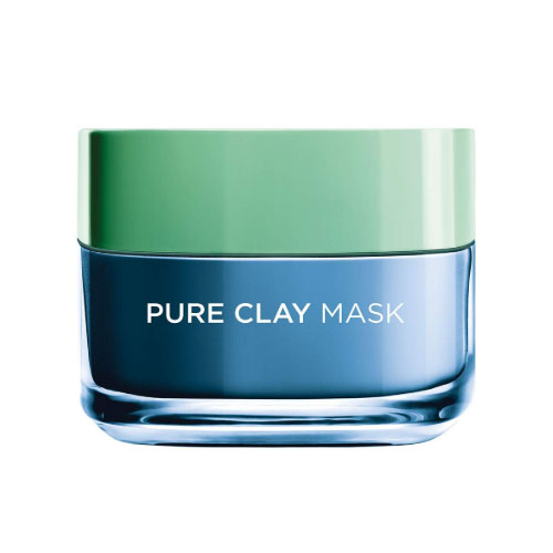 L'Oreal Paris Pure Clay Blue Face Mask with Marine Algae