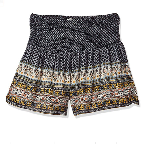 Bershka Boho Skirt Shorts