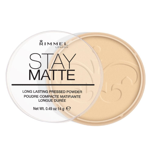 Rimmel London Stay Matte Pressed Powder Transparent