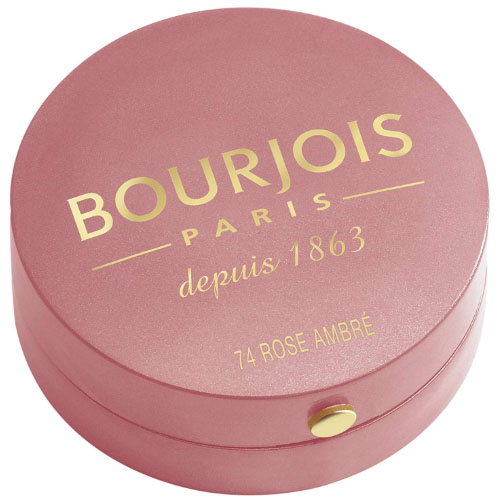 Bourjois Little Round Pot Blusher 74 Rose Ambre