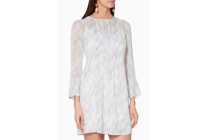 Club Monaco - Pale Green Delaynee Dress