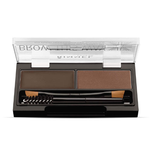 Rimmel London Brow This Way Eyebrow Sculpting Kit in Dark Brown