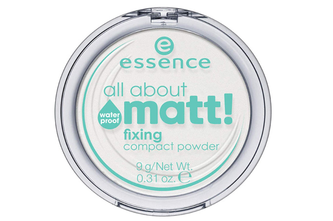 Essence All About Matt Fixing Waterproof Powder