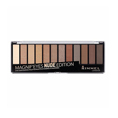Rimmel London, Magnif'Eyes Eye Contouring Palette- 001 Nude Edition.