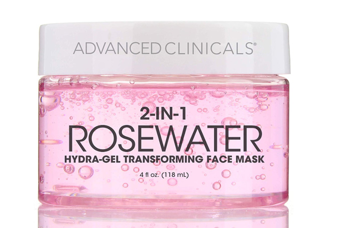 Advanced Clinicals Rosewater Mask