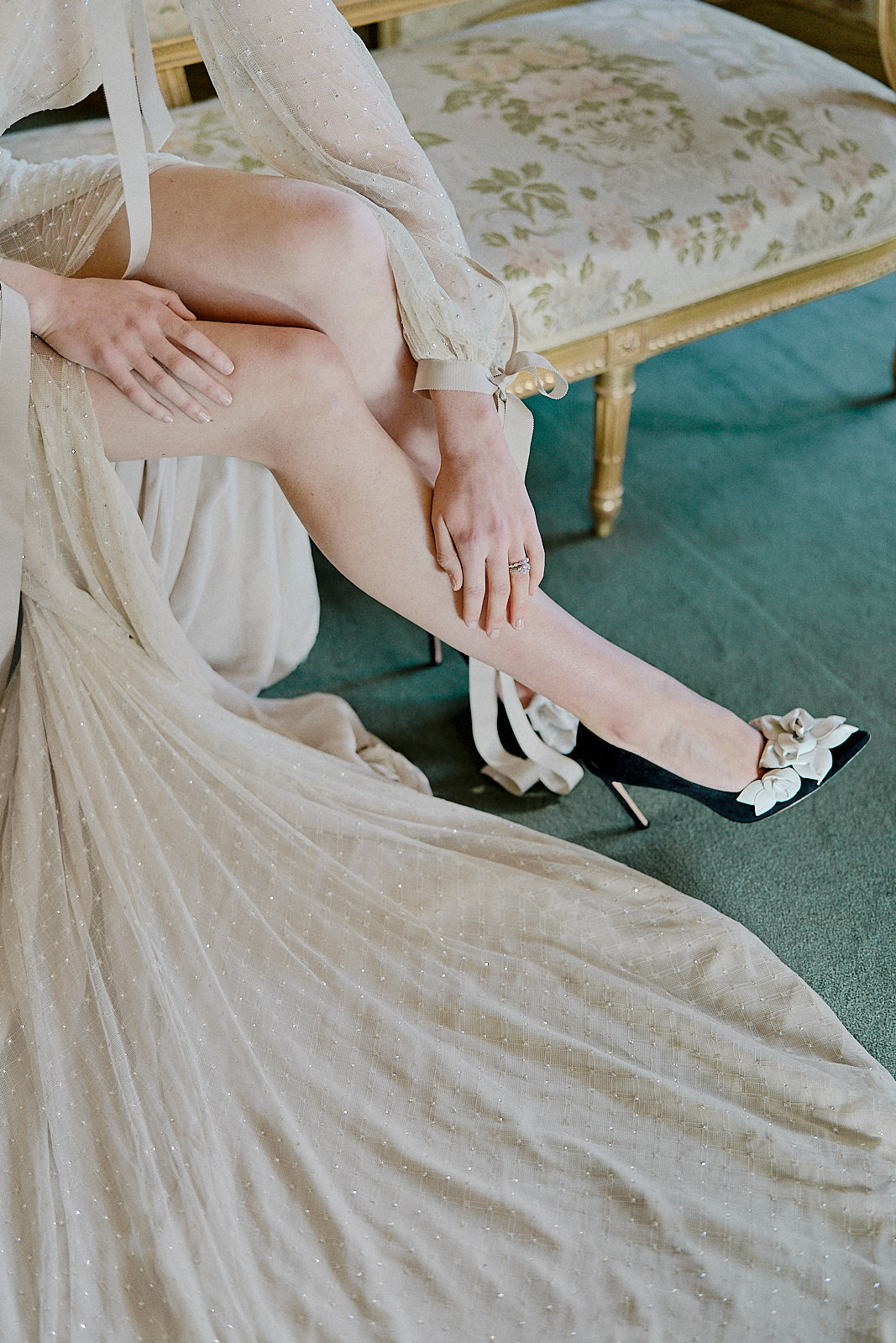 Victorian Dream bridal shoes