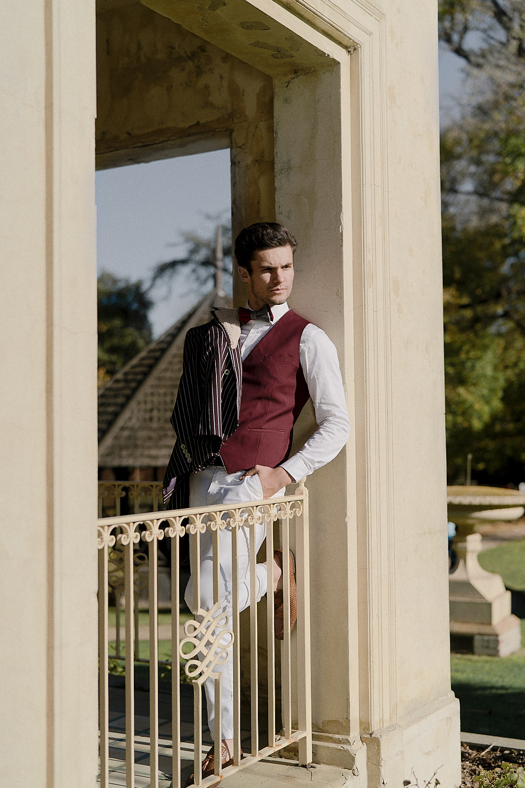 Victorian Dream groom wear
