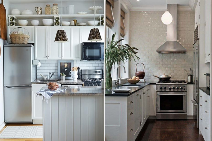 Delicieux How To Make Your Small Kitchen Look Bigger U0026 Brighter