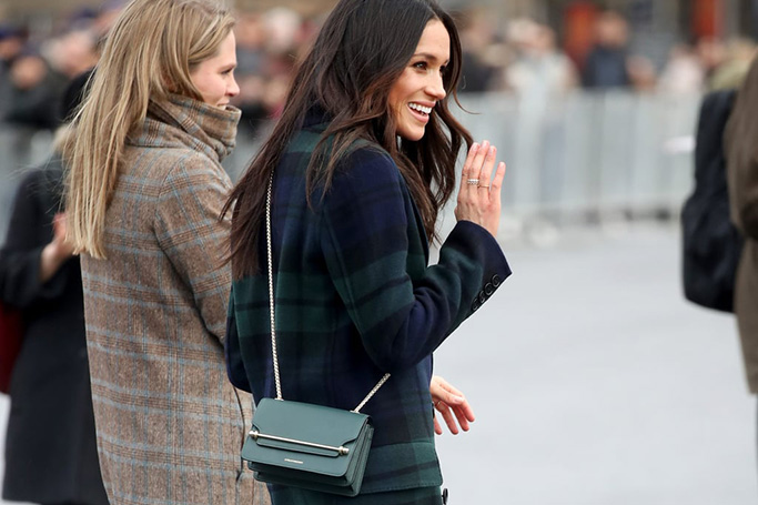 Meghan Markle's Strathberry Bag Dubai