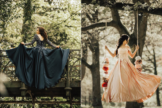 What Your Wedding Dress Colour Says About You Ewmoda