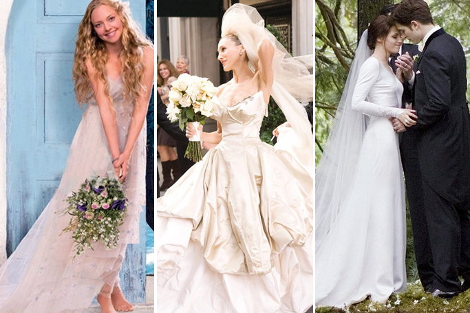 These Iconic TV/Movie Wedding Gowns Are Your Best Bridal Guides | ewmoda