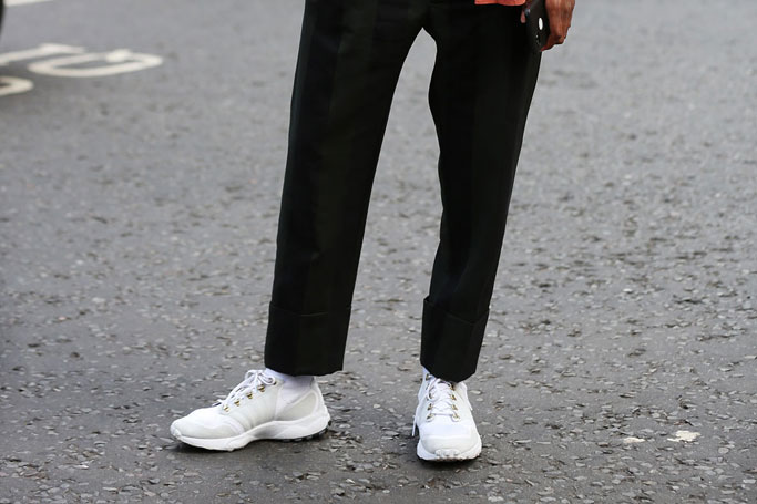 Why It's Actually Acceptable to Wear Trainers to Work