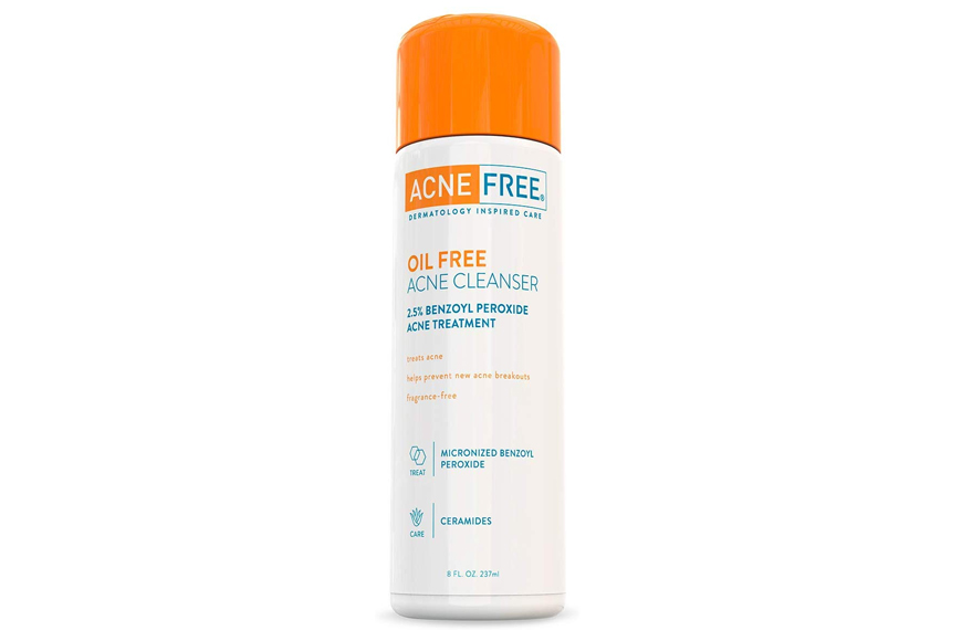 AcneFree Oil-Free Acne Cleanser with Benzoyl Peroxide