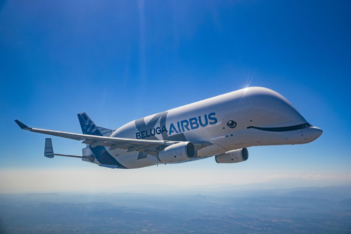Beluga Whale Look a Like: A New Airbus Plane has Entered Service