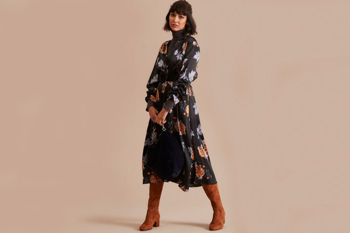 5 Of the Best Dark Floral Dresses for Autumn
