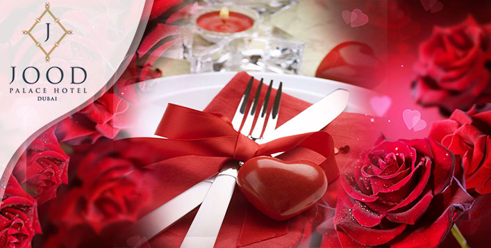 Valentine's Day packages at Jood Palace Hotel Dubai