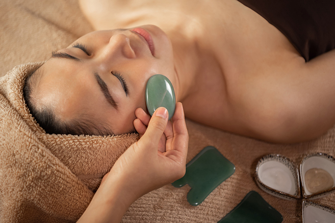 How To Perform A Gua Sha Facial Massage At Home
