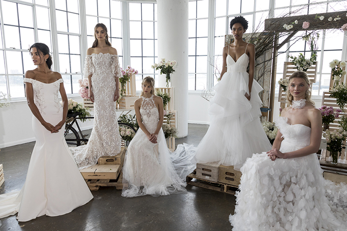 Wedding Dresses From Bridal Fashion Week AW19