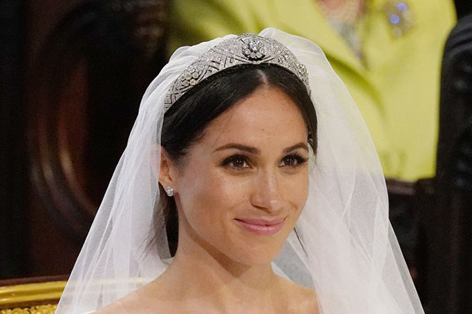Meghan Markle's Bridal Beauty