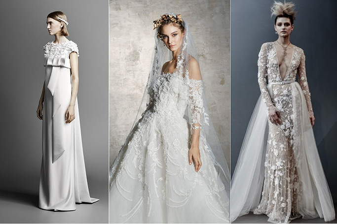 10 Wedding Dress Trends From Spring 2019 Bridal Collections Ewmoda