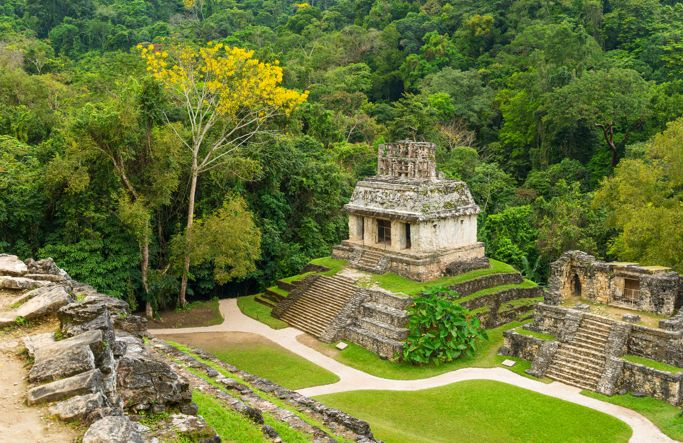 Mayan temple in Palenque (iStock/PA)