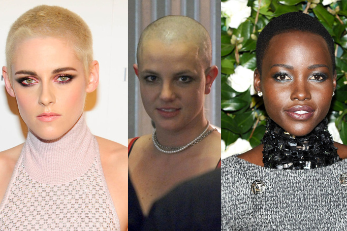 7 Female Celebs Who Shaved Their Head