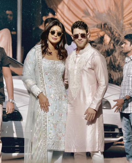 Priyanka Chopra & Nick Jonas wedding hints 5